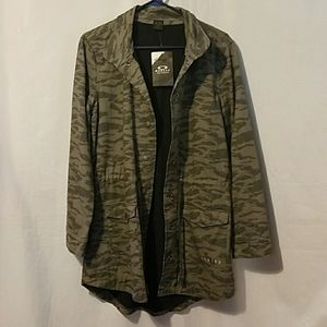 OAKLEY camouflage jacket.
